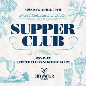 Prohibition Supper Club – Cutwater Spirits